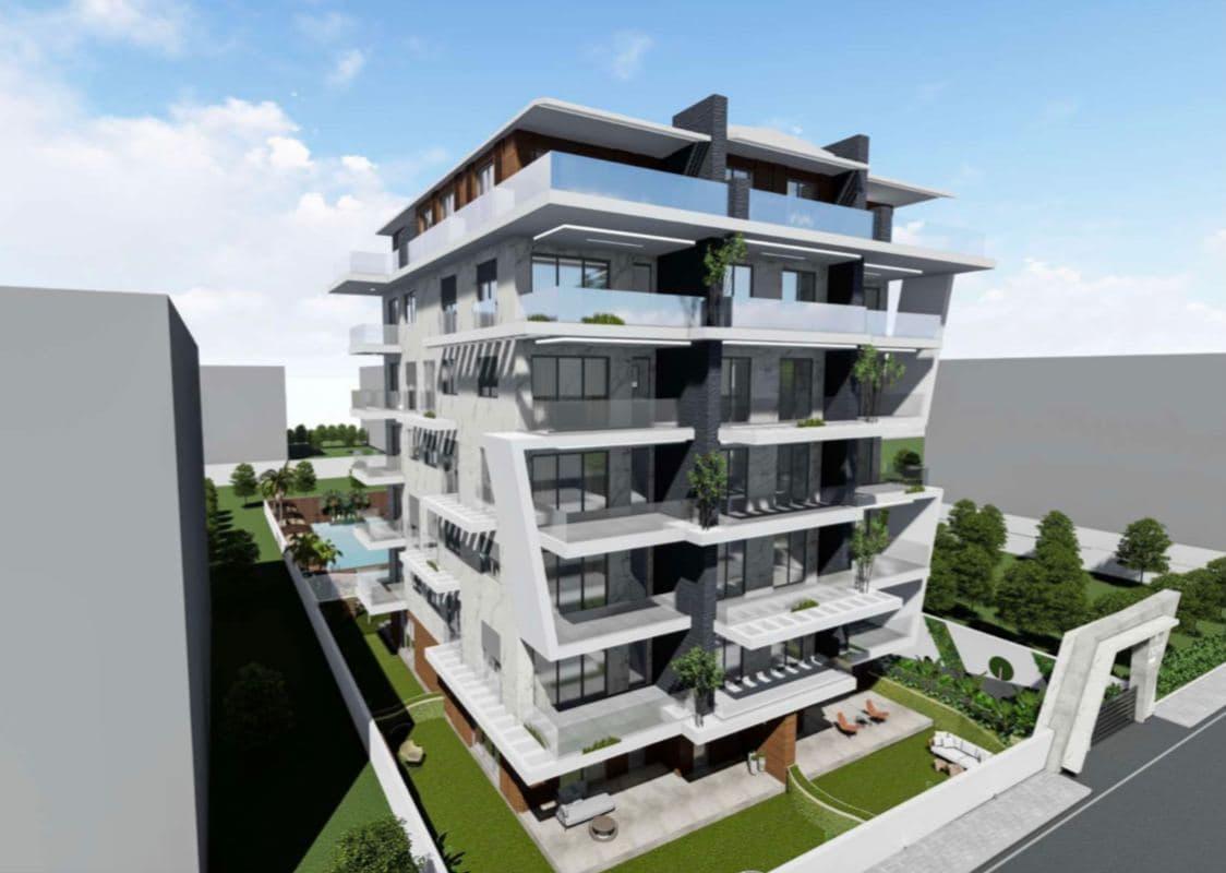 Новый комплекс в районе Кестель