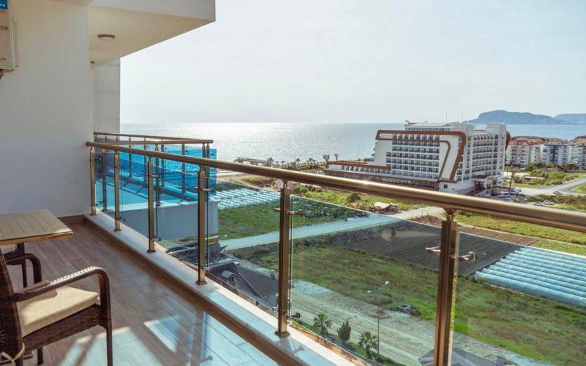 Апартаменты 1+1 с видом на море