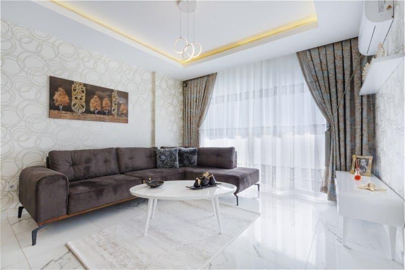 Апартаменты 1+1 с мебелью на продажу